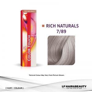Wella Color Touch Semi-Permanent Cream 7/89 - Medium Blonde Pearl Cendre 60g