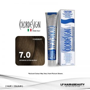 Color Design Permanent Hair Color 7.0 Extra Intensive Blonde 100ml