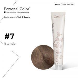 Cosmo Service Personal Color Permanent Cream 7 - Blonde 100ml
