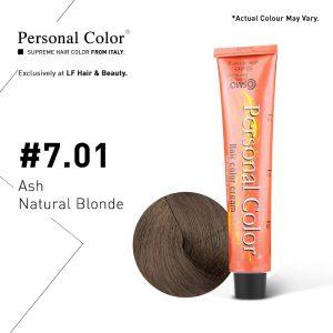 Cosmo Service Personal Color Permanent Cream 7.01 - Ash Natural Blonde 100ml