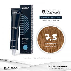 Indola Permanent Caring Color 7.3 Medium Blonde Gold 60ml