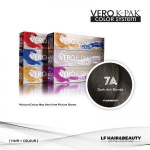 Joico Vero K-PAK Color 7A Permanent Color - Dark Ash Blonde 74ml