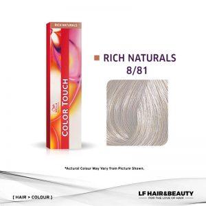 Wella Color Touch Semi-Permanent Cream 8/81 - Light Blonde Pearl Ash 60g