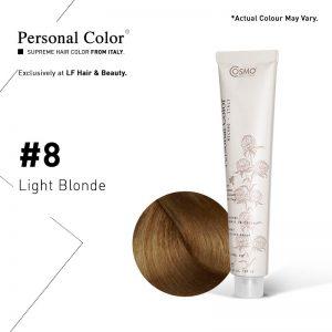 Cosmo Service Personal Color Permanent Cream 8 - Light Blonde 100ml