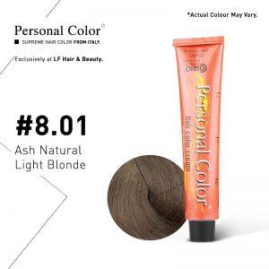 Cosmo Service Personal Color Permanent Cream 8.01 - Ash Natural Light Blonde 100ml