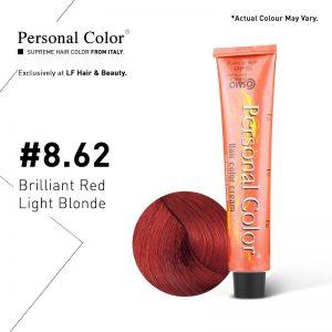 Cosmo Service Personal Color Permanent Cream 8.62 - Brilliant Red Light Blonde 100ml