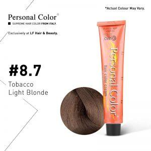 Cosmo Service Personal Color Permanent Cream 8.7 - Tobacco Light Blonde 100ml