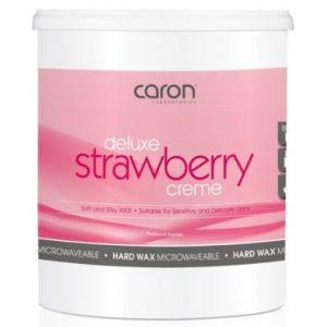 Caron Deluxe Strawberry Creme Hard Wax 800g