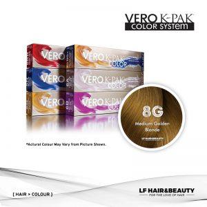 Joico Vero K-PAK Color 8G Permanent Color - Medium Golden Blonde 74ml