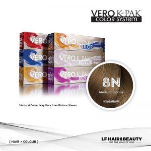 Joico Vero K-PAK Color Permanent 8N - Medium Blonde 74ml