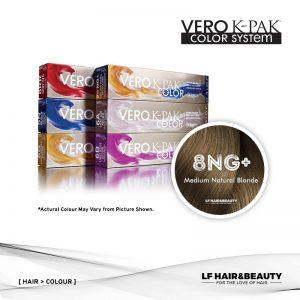 Joico Vero K-PAK Age Defy 8NG+ Permanent Color - Medium Natural Blonde 74ml