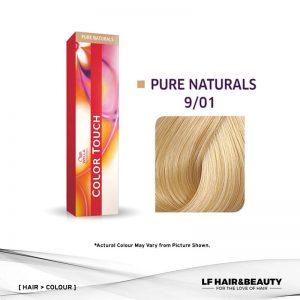 Wella Color Touch Semi-Permanent Cream 9/01- Very Light Blonde Natural Ash 60g