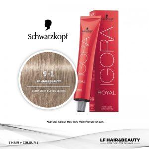 Schwarzkopf Igora Royal 9-1 Extra Light Blonde Cendre 60ml