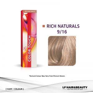 Wella Color Touch Semi-Permanent Cream 9/16 - Very Light Blonde Ash Violet 60g