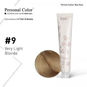 Cosmo Service Personal Color Permanent Cream 9 - Very Light Blonde 100ml