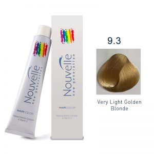 Nouvelle - Permanent Hair Color 9.3/Very Light Golden Blonde 100ml