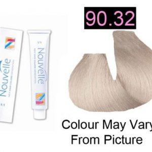 Nouvelle - Permanent Hair Color 90.32 Champagne 100ml