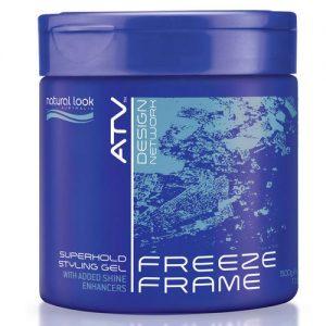 **Buy 12 get 1 Free ** Natural Look ATV Freeze Frame Superhold Styling Gel 500g