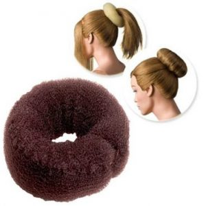 Dress Me Up Hair Donut and Sausage Two Way Styler - Brown