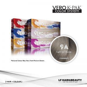 Joico Vero K-PAK Color 9A Permanent Color - Light Ash Blonde 74ml
