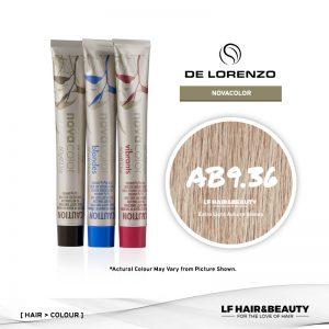 De Lorenzo NovaColor Permanent Colour AB9.36 - Extra Light Auburn Blonde 60g