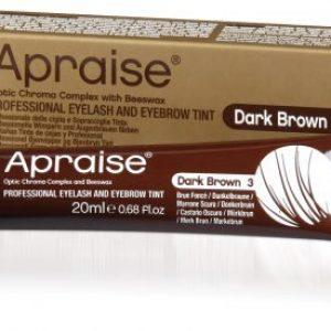 Apraise Professional Eyelash & Eyebrow Tint 20ml - 3 Dark Brown
