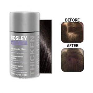 Bosley Hair Thickening Fibers - black