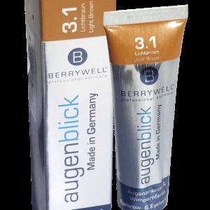 BERRYWELL - Eyebrow & Eyelash Dye 15ml - no.3.1 Light Brown