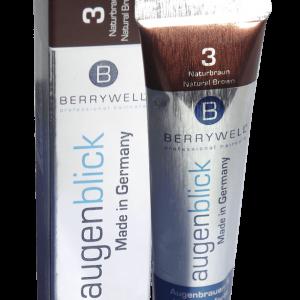 BERRYWELL - Eyebrow & Eyelash Dye 15ml - no.3 Natural Brown
