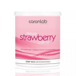 Caron Deluxe Strawberry Creme Strip Wax 800ml