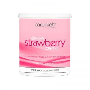 Caronlab Deluxe Strawberry Creme Strip Wax 800g