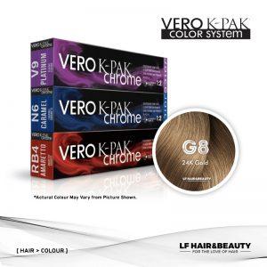 Joico Vero K-PAK Chrome G8 Demi Permanent - 24K Gold 60ml