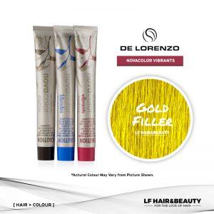 De Lorenzo NovaColor Permanent Colour Gold Filler 60g