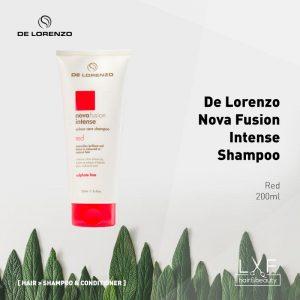 De Lorenzo Nova Fusion Colour Care Shampoo Intense Red 200ml