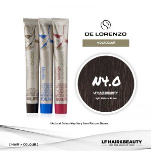 De Lorenzo NovaColor Permanent Colour N4.0 - Light Natural Brown 60g