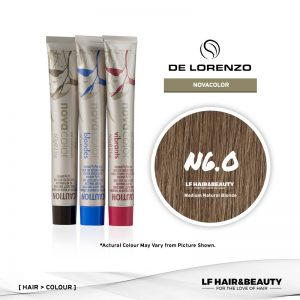 De Lorenzo NovaColor Permanent Colour N6.0 - Medium Natural Brown 60g