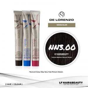 De Lorenzo NovaColor Permanent Colour NN3.00 - Intense Medium Natural Brown 60g