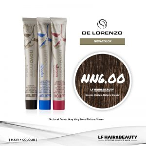 De Lorenzo NovaColor Permanent Colour NN6.00 - Intense Medium Natural Blonde 60g