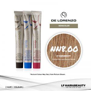 De Lorenzo NovaColor Permanent Colour NN8.00 - Intense Very Light Natural Blonde 60g