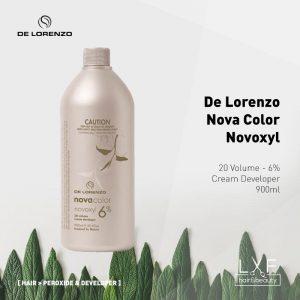 De Lorenzo Nova Color Novoxyl Creme Developer 6% 20 Vol 900ml