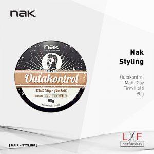 Nak Styling Outakontrol Matt Clay Firm Hold 90g