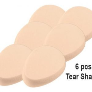Tear Shapes Make up / Sponges Cream 6pcs