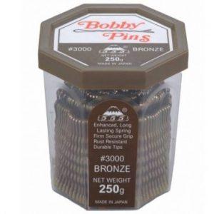 555 - Bobby Pins 2'' Bronze 250g
