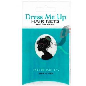 Dress Me Up Bun Nets - Dark Brown 2pk
