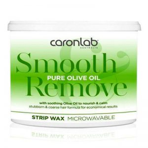 Caron Smooth&Remove Pure Olive Oil S/Wax 400g (Microwaveable)