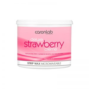 Caronlab Deluxe Strawberry Creme Strip Wax 400g