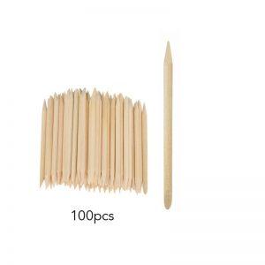 Wooden Cuticle Pushers 100pcs