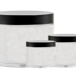 Clear Plastic Power Jar Assorted