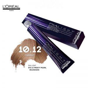 Loreal Dia Light Hair Colourant 10.12 Frosty Pearl Milkshake 50ml