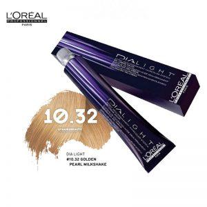 Loreal Dia Light Hair Colourant 10.32 Golden Pearl Milkshake 50ml